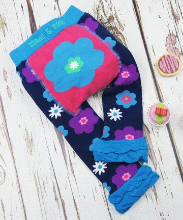 ベビー&トドラー レギンス Pretty Flower お花 6-12ヵ月/1-2歳|Blade&Rose ブレイドアンドローズ