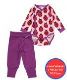 【20%OFF】Maxomorra 新生児おためしセット 50サイズ(0-1ヵ月)Ladybug
