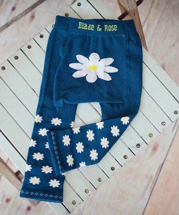 ベビー・キッズ レギンス Blue Daisy 6ヵ月-4歳|Blade&Rose ブレイドアンドローズ