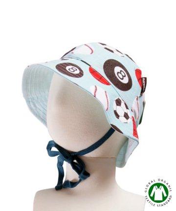 セール 北欧 ベビー用品 サンハット/帽子 Sport ボール柄 6-12か月/1-2歳 Maxomorra マクソモーラ