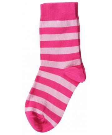 【北欧スウェーデンのベビーソックス】マクソモーラ【Maxomorra】靴下 Cerise/Pink