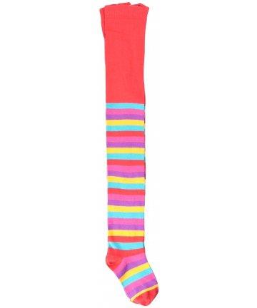 北欧スウェーデンのベビータイツ Red Mix Stripes 3-9ヶ月/9-18ヶ月 Maxomorra マクソモーラ Stockings