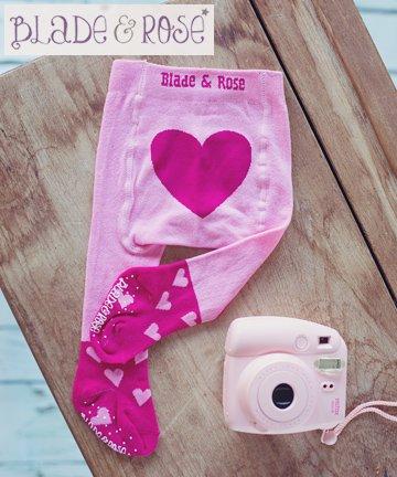 ベビータイツ Heart ハート 6-12ヶ月/1-2歳 Blade&Rose ブレイドアンドローズ/イギリス