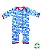 イギリスのベビー服 長袖カバーオール Blue Farm Sleepsuit 3-6ヶ月  tobytiger トビータイガー