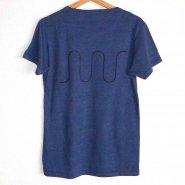 「FINGER JOINT」<br>ロゴTシャツ-7<br>ネイビー