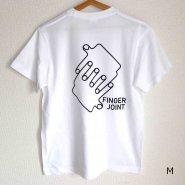 「FINGER JOINT」<br>ロゴTシャツ-8<br>ホワイト