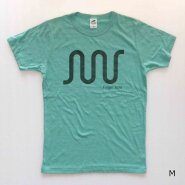 「FINGER JOINT」<br>ロゴTシャツ-2<br>グリーン