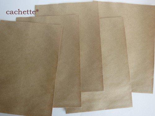 クラフト平袋(10枚セット)