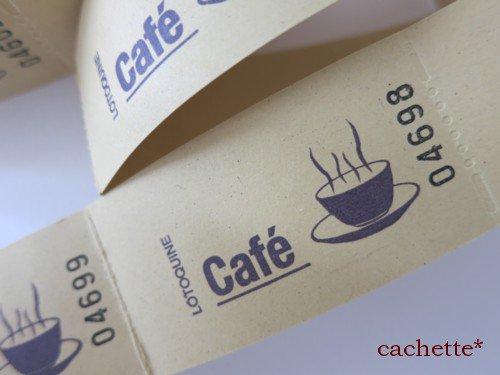 ベルギー★チケット(カフェcafe・薄ベージュ・10枚入り)