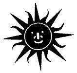 [The English Stamp Company製スタンプ] 太陽