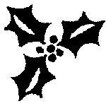 ★★SALE★★[The English Stamp Company製スタンプ] ひいらぎ(B)