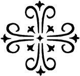 [The English Stamp Company製スタンプ] new cross(大)