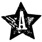 [The English Stamp Company製スタンプ] アルファベットAスター
