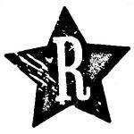 [The English Stamp Company製スタンプ] アルファベットRスター