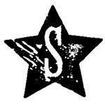 [The English Stamp Company製スタンプ] アルファベットSスター