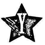 [The English Stamp Company製スタンプ] アルファベットYスター
