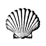 [The English Stamp Company製スタンプ] ホタテ貝(B)