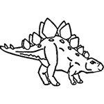 [The English Stamp Company製スタンプ] ステゴザウルス