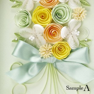 Paper Quilling ブーケ