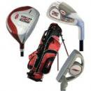<img class='new_mark_img1' src='//img.shop-pro.jp/img/new/icons1.gif' style='border:none;display:inline;margin:0px;padding:0px;width:auto;' />NEW Red Zone Boys Junior 3 Golf Club Set w/ Driver,Iron,Putter & Bag Red