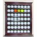 <img class='new_mark_img1' src='https://img.shop-pro.jp/img/new/icons1.gif' style='border:none;display:inline;margin:0px;padding:0px;width:auto;' />NULL GB49--CH 49 Novelty Golf Ball Display Case Cabinet Shadow Box,with glass door,Cherry Finish