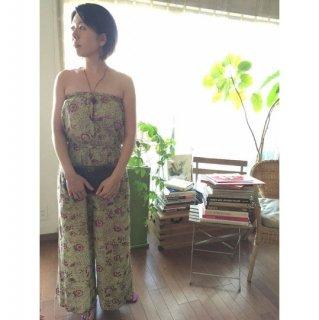インド綿100% 日本未発売 Anokhi ジャンプスーツ