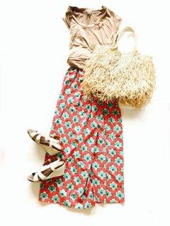 日本未発売 BOMBAYPAISLEY ロングスカート
