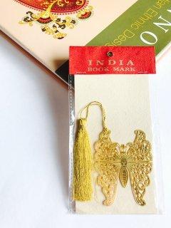 インドのしおり インドブックマーク バタフライ