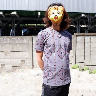 サイケデリックTシャツ 男女兼用 フェス服 08019
