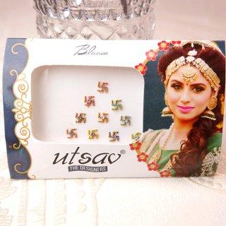 インド 雑貨 ベリーダンスアクセサリー ビンディシール10