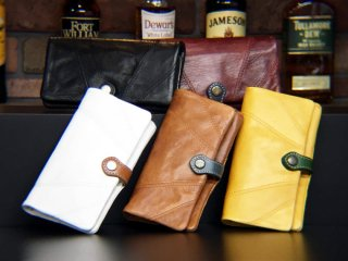 FADE LEATHER - LONG WALLET