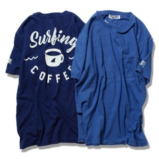 SC INDIGO TEE // Surfing Coffee