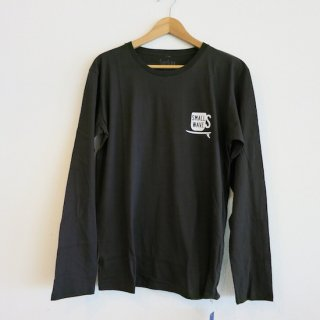 SURFING COFFEE L/S Tee - Black // 1975