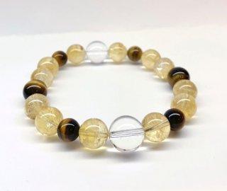 【金運】黄色水晶シトリンの金運王道ブレスレット