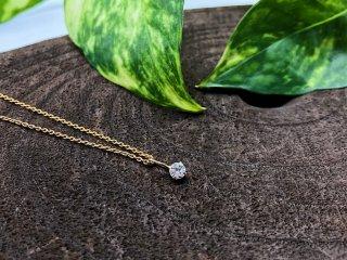 ダイヤモンド K18 Petitペンダント