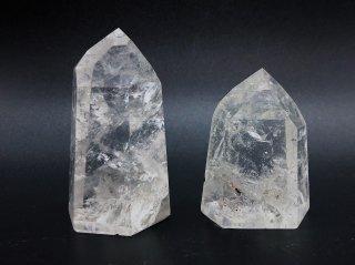 ブラジル産 水晶 ポイント  (122g,153g)