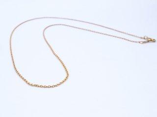 K14GF (14金ゴールドフィルド) ネックレス チェーン 40cm