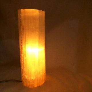 セレナイト原石ライト