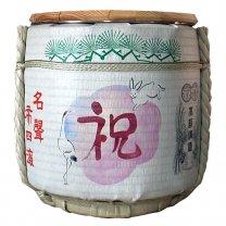千福 純米酒 1升×6本(10.8L) レンタル樽用に 鏡開き用