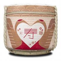夢心 純米酒1升×6本(10.8L) レンタル樽用に 鏡開き用
