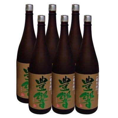 北安大国 純米酒 豊響(みのり) 1升×6本(10.8L) レンタル樽用に 鏡開き用