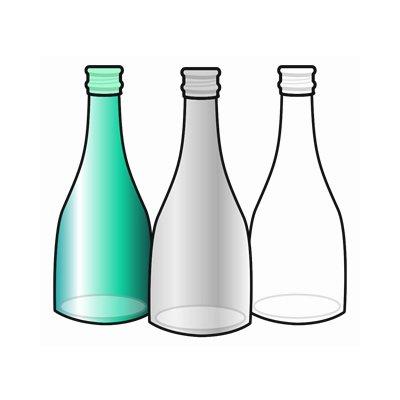 ガラス空瓶 24本入 300ml