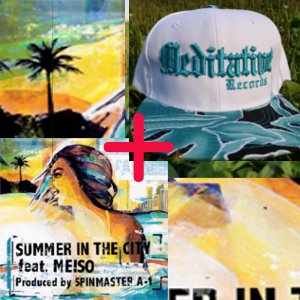 "Summer In The City[7""]+Medi Cap White X Blue SET"