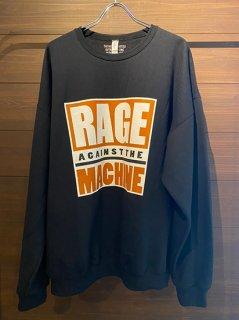 RAGE AGAINST THE MACHINE / CREW NECK SWEAT SHIRT (TYPE-3)