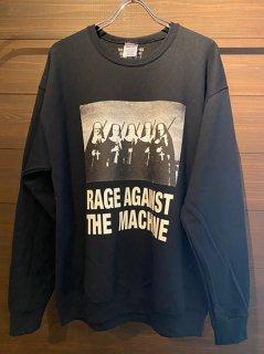 RAGE AGAINST THE MACHINE / CREW NECK SWEAT SHIRT (TYPE-4)