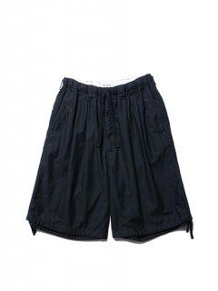 Back Satin Drawstring Easy Shorts