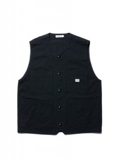Rough Twill Work Vest