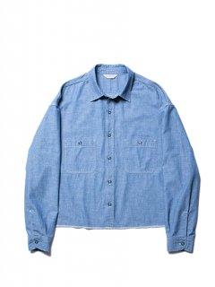 Chambray Work Cutoff L/S Shirt