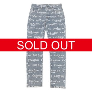 Æ C.F.C. ALL OVER DENIM PANTS