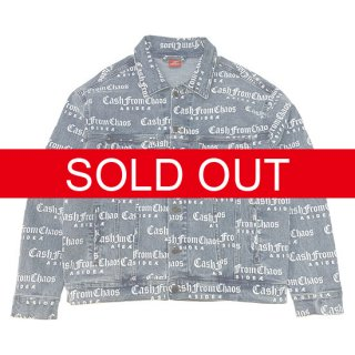 Æ C.F.C. ALL OVER DENIM TRUCKER JACKET